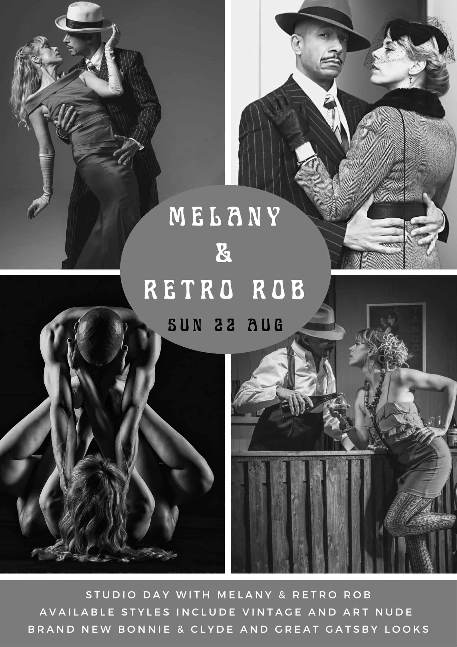 Vintage Retro Studio shoot